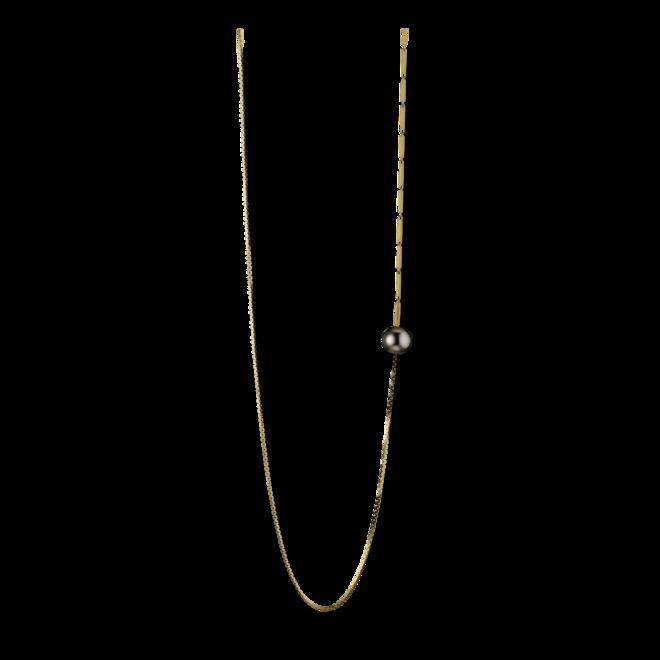 Halskette mit Anhänger Gellner Fuse aus 925 weißes Silber und 925 Sterlingsilber mit Tahiti-Perle bei Brogle