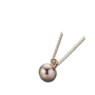 Gellner Halskette mit Anhänger H2O 5-22007-15