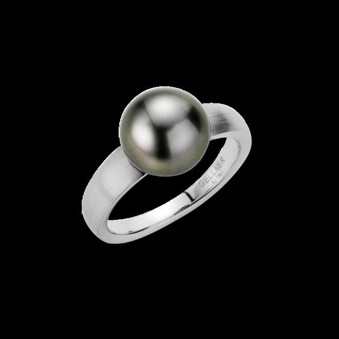 Ring Gellner H2O aus 750 Weißgold mit Tahiti-Perle Größe 58 bei Brogle