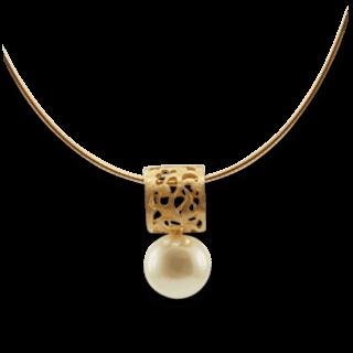 Gellner Halskette mit Anhänger Pearl Style Cut Off 2-050-80841-1012-0002