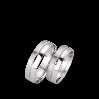 Gerstner Trauring Pearl Style 20912/6