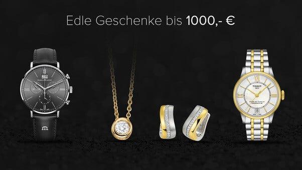 Geschenke bis 1000€