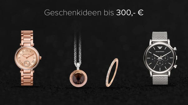 Geschenke bis 300€