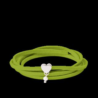 girlsloovepearls Armband und Halsband Oktober Grün GLP0005