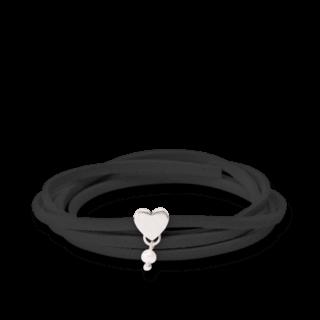 girlsloovepearls Armband und Halsband Oktober Schwarz GLP0007