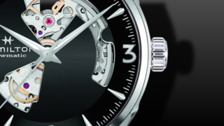 Hamilton Jazzmaster Open Heart H-10 42mm