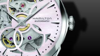 Hamilton Jazzmaster Viewmatic Skeleton Lady 36mm