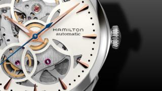 Hamilton Jazzmaster Viewmatic Skeleton Lady 36mm
