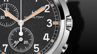 Hamilton Khaki Aviation Pilot Pioneer Chrono Quartz 41mm
