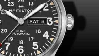 Hamilton Khaki Field Day/Date Military Automatik 42 mm