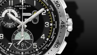 Hamilton Khaki Worldtimer Quarz Chrono 45mm