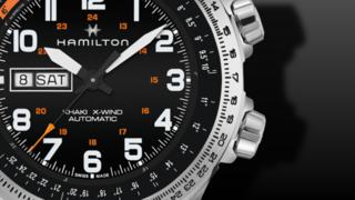 Hamilton Khaki X-Wind Day/Date 45mm