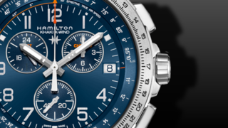 Hamilton Khaki X-Wind GMT Quarz Chrono 46mm