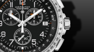 Hamilton Khaki X-Wind GMT Quarz Chrono 46mm