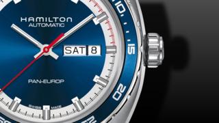 Hamilton Pan Europ Day Date Automatik 42mm