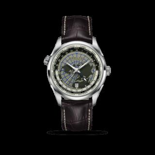 Hamilton Herrenuhr Jazzmaster GMT Automatik 42mm H32605581