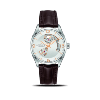 Hamilton Herrenuhr Jazzmaster Open Heart H-10 42mm H32705551