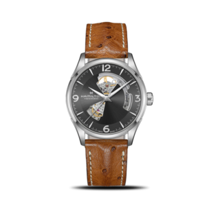 Hamilton Herrenuhr Jazzmaster Open Heart H-10 42mm H32705581