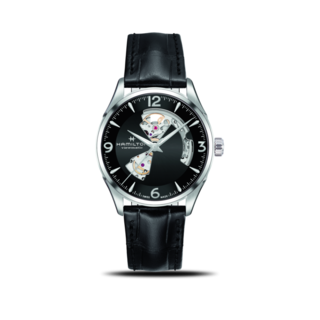 Hamilton Herrenuhr Jazzmaster Open Heart H-10 42mm H32705731