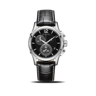 Hamilton Herrenuhr Jazzmaster Quarz Chronograph 42mm H32612731
