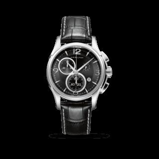 Hamilton Herrenuhr Jazzmaster Quarz Chronograph 42mm H32612735