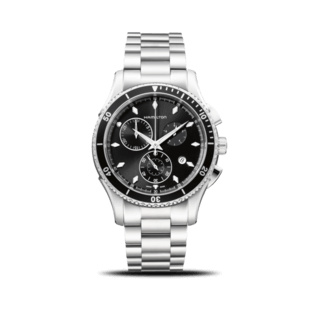 Hamilton Herrenuhr Jazzmaster Seaview Chrono Quarz 44mm H37512131