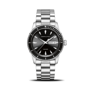 Hamilton Herrenuhr Jazzmaster Seaview Day/Date Quarz 42mm H37511131