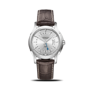 Hamilton Herrenuhr Jazzmaster Traveler GMT Auto 42mm H32585551