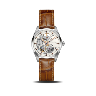 Hamilton Damenuhr Jazzmaster Viewmatic Skeleton Lady 36mm H32405551