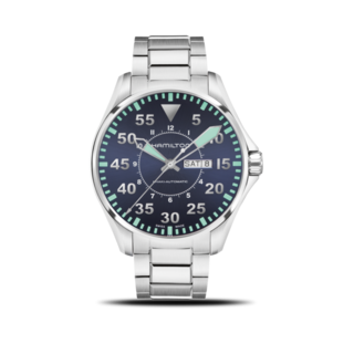 Hamilton Herrenuhr Khaki Pilot Automatik 46mm H64715145