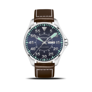 Hamilton Herrenuhr Khaki Pilot Automatik 46mm H64715545