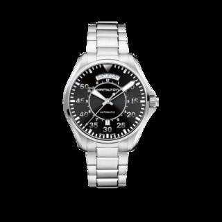Hamilton Herrenuhr Khaki Pilot Day/Date Automatik 42mm H64615135