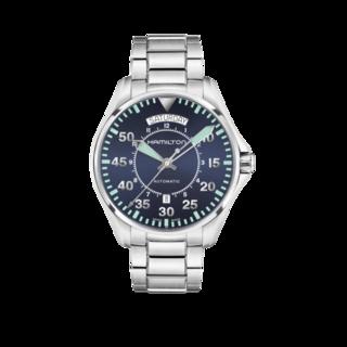 Hamilton Herrenuhr Khaki Pilot Day/Date Automatik 42mm H64615145