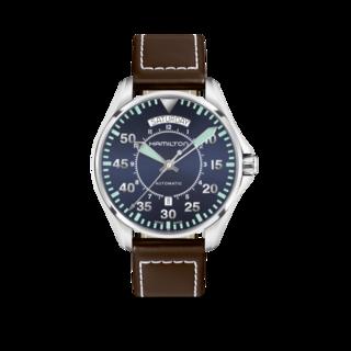 Hamilton Herrenuhr Khaki Pilot Day/Date Automatik 42mm H64615545
