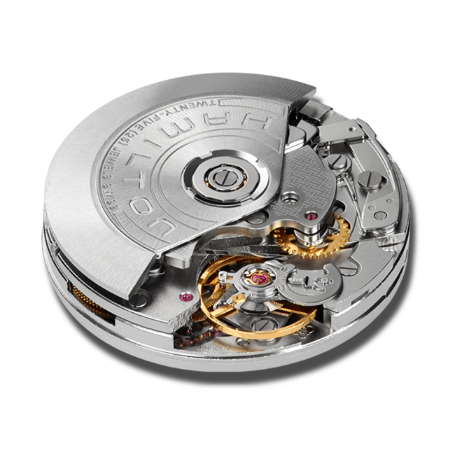 Herrenuhr Hamilton Khaki Field Automatik Chrono 42mm mit schwarzem Zifferblatt und Kautschukarmband bei Brogle