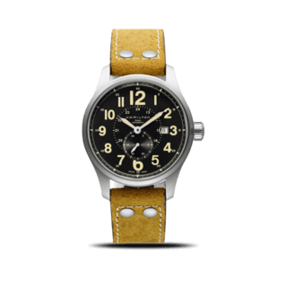 Hamilton Herrenuhr Khaki Officer Kleine Sekunde 44mm H70655733
