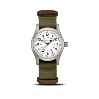 Hamilton Armbanduhr Khaki Field Mechanical H69439411