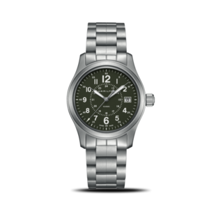 Hamilton Armbanduhr Khaki Field Quarz 38mm H68201163