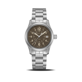 Hamilton Armbanduhr Khaki Field Quarz 38mm H68201193