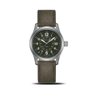 Hamilton Armbanduhr Khaki Field Quarz 38mm H68201963