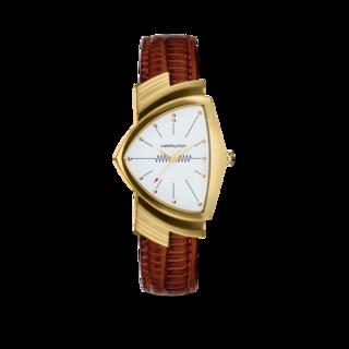 Hamilton Armbanduhr Ventura M Quarz Gold H24301511