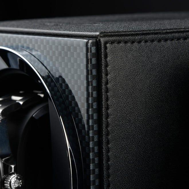 Uhrenbeweger Heisse & Söhne Moon aus Kunststoff und Lederfaserstoff bei Brogle