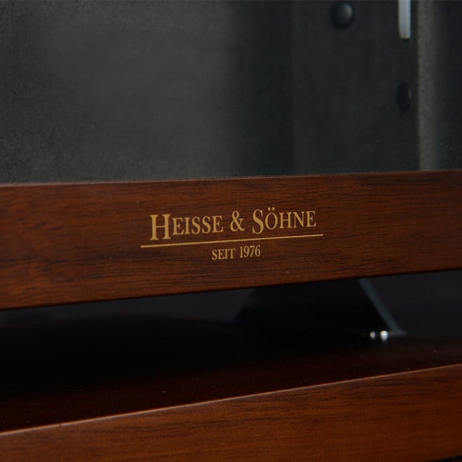 Uhrenbeweger Heisse & Söhne Triton 8 aus Holz/MDF und Lederfaserstoff bei Brogle