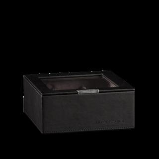 Heisse & Söhne Stapelbares Schmuckkästchen Mirage L - Oberteil: Uhrenbox für 6 Uhren 70019-127.37