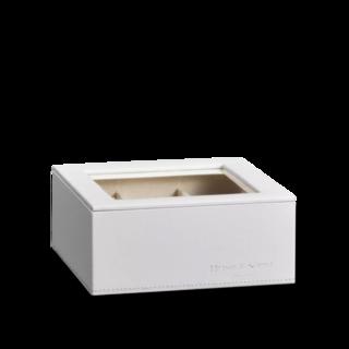 Heisse & Söhne Stapelbares Schmuckkästchen Mirage L - Oberteil: Uhrenbox für 6 Uhren 70019-127.42