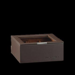 Heisse & Söhne Stapelbares Schmuckkästchen Mirage L - Oberteil: Uhrenbox für 6 Uhren 70019-127.47