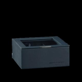 Heisse & Söhne Stapelbares Schmuckkästchen Mirage L - Oberteil: Uhrenbox für 6 Uhren 70019-127.94