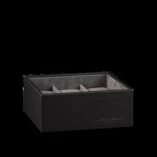 Heisse & Söhne Stapelbares Schmuckkästchen Mirage L - Unterteil: Uhrenbox für 6 Uhren 70019-128.37