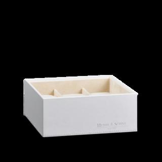 Heisse & Söhne Stapelbares Schmuckkästchen Mirage L - Unterteil: Uhrenbox für 6 Uhren 70019-128.42