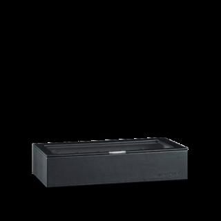 Heisse & Söhne Stapelbares Schmuckkästchen Mirage XL - Oberteil: Uhrenbox für 12 Uhren 70019-123.37